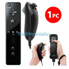 2 x Remote and Nunchuck Controller Set Combo + Case Skin For Nintendo Wii &Wii U
