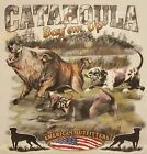 OUTFITTERS CATAHOULA BAY'EM UP BOAR HUNTING WILD HOG #595 POCKET SHIRT