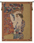 Klimt's Mother and Child Belgian Fine Art Religious Woven Tapestry Wall Hanging
