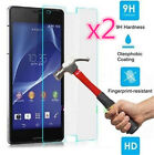 2-Pack Tempered Glass Film Screen Protector For Sony Xperia Z1 C6903 C6906 L39h