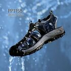 Paperplanes PP1158-NV Mens Sport Sandals Water Shoes Walking Hiking Trail Shoes