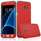 Full Curved Cover Protection Hybrid Acrylic Hard Case For Samsung Galaxy Phones