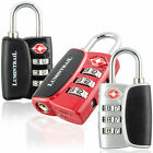 Lumintrail TSA Approved Travel Bag Luggage Lock 3 Digit Resettable Combination