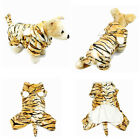 Pet Dog Clothes Hoodie Tiger Cosplay Coat Winter Jacket Apparel Warm Costume New