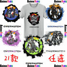Overwatch Reinardt/Symmetra/Mercy/Widowmaker Cotton Short Sleeve T-shirt Tee&Top