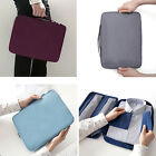 Men Portable Travel Shirt Case Tie Clothes Storage Bag Orgnizar Dust Protection