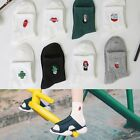 Women's Cute Cartoon Girl Cotton Cactus Ankle Socks Stockings Colorful Hot Sale