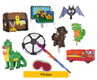 PINATA - Various BOY Themes - Birthday Party Pull Bash Kids Game Toy Decoration