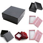 1pc Sponge Present Gift Box for Watch Ring Necklace Bracelet Jewelry Packing