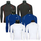 Mens Compression Base Layers Skins Long Sleeve Under Shirt Sports Cycling Tops