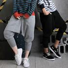 Hip Hop Dance Sport Casual Mens Womens Harem Baggy Slacks Sweat Pants Trouser