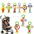 Внешний вид - Baby Infant Rattles Plush Animal Stroller Music Hanging Bell Toy Doll Soft Bed Y