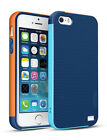 For iphone 5S Case  Hybrid Impact TPU Shockproof Rugged Shell Exact-Fit Protect