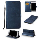 Solid Fold Stand Leather Wallet Phone Cases For Samsung Galaxy Cell Phone New