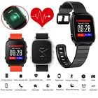 Waterproof Swimming Bluetooth Smart Watch Heart Rate Monitor Fitness Tracker