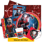 ANT MAN Birthday Party Range (Tableware Balloons & Decorations) Marvel