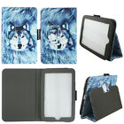 TABLET FOLIO CASE FOR BARNES & NOBLES NOOK HD 7 SLIM FIT PU LEATHER STANDG COVER