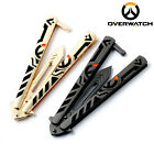 Overwatch Dragon Butterfly Jilt Knife Training Tool Weapon Model Collection Gift