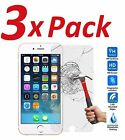 3x FOR IPHONE 7 + PLUS BALLISTIC TEMPERED GLASS SCREEN PROTECTOR GUARD 9H HARD