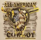 ALL AMERICAN OUTFITTERS RODEO COWBOY SKULL #1342 LONG SLEEVES SHIRT
