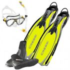 Cressi Set Reaction Ebs Yellow 04US