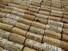 Natural USED Wine Corks Lots of 10 20 30 40 50 Recycled Crafts Projects Favors