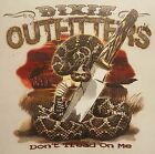 DIXIE OUTFITTERS DON'T TREAD ON ME! RATTLESNAKE HOODED SWEATSHIRT #7115 HOODIE