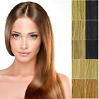 "6Pcs 18"" Blonde Highlights Straight Full Head Synthetic Hair Extensions"