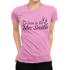 Wedding Gift T-Shirt, Hen Night T-Shirt SOON TO BE MRS ????? Personalised