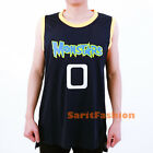 Monstars Squad  Basketball Jersey Monsters Space Jam Movie Stiched Shirt Black