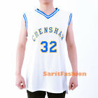 Monica Wright #32 Crenshaw Basketball Jersey High School Love & Basketball White