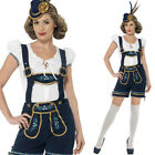 Traditional Bavarian Womans Shorts Fancy Dress Costume Oktoberfest Smiffys 45264