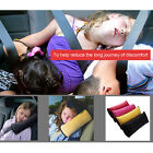 Kids Children Car Seat Belt Shoulder Pad Cover Pillow Cushion Head Support Rest