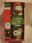 fudge packaging - New In Package 2 Peanuts Snoopy Mugs With Hot Chocolate Fudge Cocoa Mix