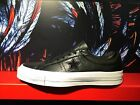 CONVERSE ONE STAR OX BLACK WHITE BLACK LEATHER MEN SHOES 155548C