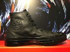 CONVERSE CHUCK TAYLOR ALL STAR CHUCK'70 BLACK BLACK HI LEATHER MEN SHOES 155454C