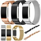 NEW For Fitbit Charge 2 Milanese Stainless Steel Watch Band Wrist Strap Bracelet