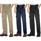 Dickies WP592 Men's Relaxed Fit Cargo Pants Straight Leg Chinos Workwear Uniform