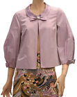 WOW $725 D&G Womens Jacket Coat Lilac Size 40 NWT 1144