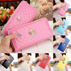 2017 Holder Lady Women Handbag Clutch Wallet Purse Long PU Card Leather S0BZ
