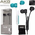 akg in ear - GENUINE Headphones AKG Y20U,in-ear with microphone and remote.Takes your calls