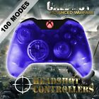 Xbox One/S Clear Blue With Red LED Rapid Fire Paddle Controller BF1-IW-GOW4