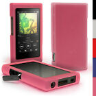 Silicone Gel Skin Case for Sony Walkman NW-A35 NW-A40 NW-A45 Cover + Screen Prot