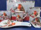 Christmas Robin Table & Dining Robin Christmas Tableware Brand New