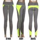 Women Athletic Gym Yoga Pants Clothes Running Fitness Sport Compression Pants SS