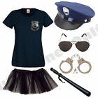 CHILD KIDS GIRLS NEW YORK POLICE COP FANCY DRESS COSTUME POLICEWOMAN
