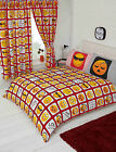 Emotions Red Emoji Emoticon Sleepy Smiley Boxes Black Yellow Bedding Or Curtains