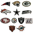Official NFL - Crest Metal Pin BADGE (American Football) All Teams