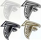 Atlanta Falcons decal sticker sizes up to 12 inches Reflective, Chrome etc $3.49 USD on eBay