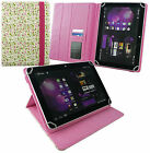 """Universal Wallet Case Cover stand fits various 7- 8"""" inch Tablets & Stylus"""